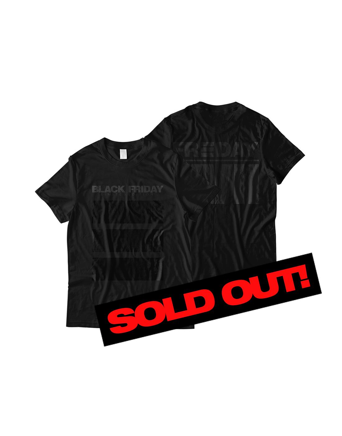 Black Friday Shirt All Black