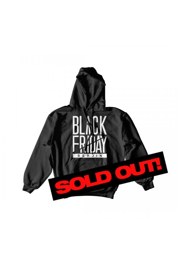 Black Friday Tour Hoodie ALL BLACK//WHITE