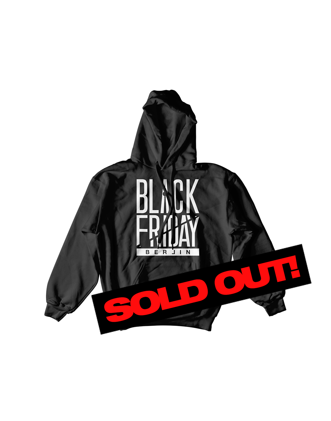 Black Friday Tour Hoodie ALL BLACK//WHITE